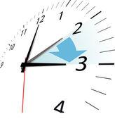 Ahorro de luz diurna — Vector de stock