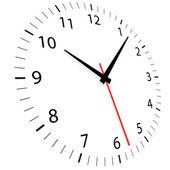 Illustration of a clock — Stock Vector