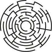 Labyrinth — Stock Vector