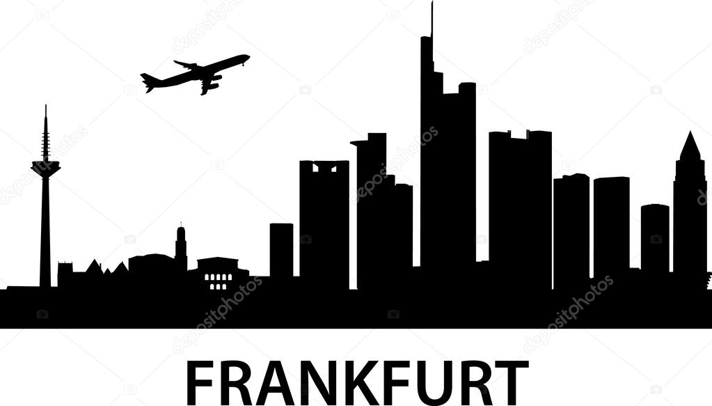 Detailed vector illustration of Frankfurt am Main,Germany — Stock Vector #5272803