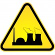 Danger of nuclear power — Stock Vector #5359452