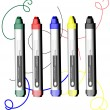 Royalty-Free Stock Vector Image: Markers