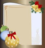 рождественское письмо — Cтоковый вектор