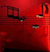 Background flamenco — Stock Vector