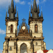 Stock Photo: Tyn Church in Prague