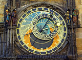 Astronomical clock in Prague. Czech Republic. — Stock Photo