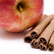 Royalty-Free Stock Photo: Apple and cinnamon