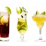 Few cocktails — Stock Photo