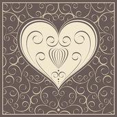 Mooie abstracte illustratie voor dag van de valentijnskaart — Stockvector