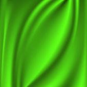 Abstract Vector Texture, Green silk — Stock Vector