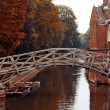 Stock Photo: Mathematical bridge, Cambridge