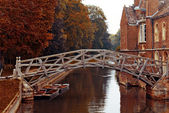 Mathematical bridge, Cambridge — Stock Photo