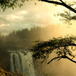 Stock Photo: Snoqualmie waterfall