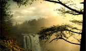 Snoqualmie waterfall — Stock Photo