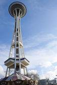 Space Needle in Seattle — Stockfoto