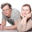 Happy seniors couple in love — Stock Photo #5103011