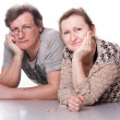 Happy seniors couple in love — Stock Photo #5103014