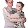 Happy seniors couple in love — Stock Photo