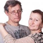 Happy seniors couple in love — Stock Photo #5103026