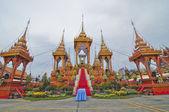 Thai-kultur-feuerbestattung — Stockfoto