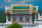 Templo tailandés en phetchaburi, Tailandia — Foto de Stock