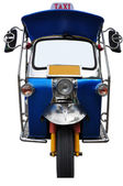 Tuk tuk tricycles — Stock Photo