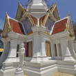 Thai temple on the hill - Stock Photo