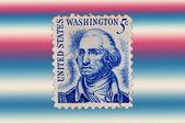 USA - CIRCA 1930: A stamp printed in USA shows Portrait President George Wa — Stock Photo