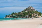 Hua Hin beach,Thailand — Foto de Stock