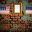 Old brick wall background — Stock Photo #4503638