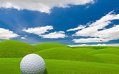 Golf fairway — Stock Photo
