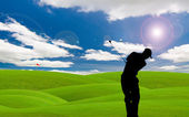 Parcours de golf — Photo