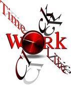 Time clock — Stock Photo