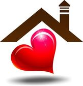 Heart House — Stock Photo