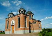Orthodox temple — Stock Photo