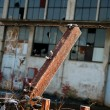 Stock Photo: Abandoned factory