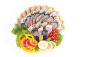 Various herring — Stock Photo
