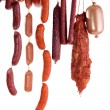 Stock Photo: Hanging sausage
