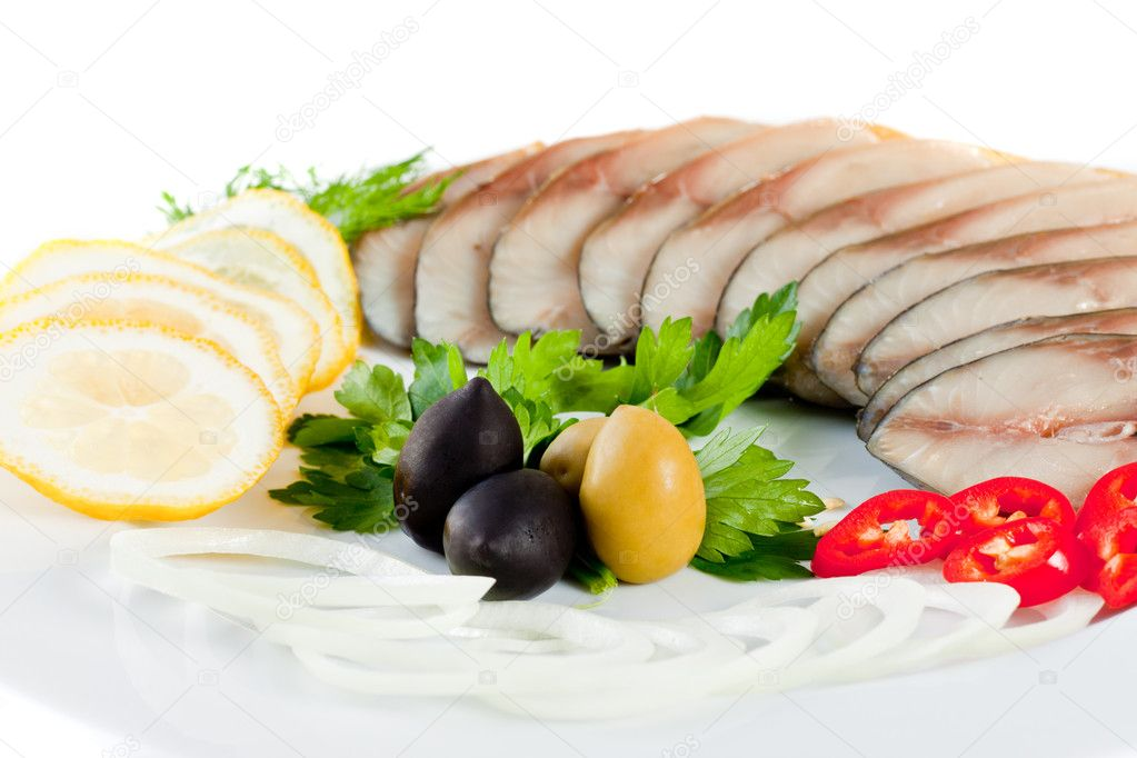 Sliced fish with vegetables stock photo shutswis 5011994 for What vegetables go with fish
