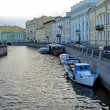 Stock Photo: Channel of Saint-Petersburg