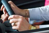 Driving man — Stock Photo
