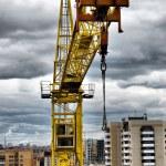 Construction crane — Stock Photo #4089099