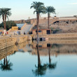 Karnak Lake - Stock Photo