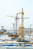 Construction sites — Stock Photo