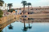 Karnak Lake — Stock Photo
