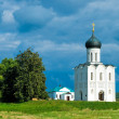 Stock Photo: Church of Intercession on River Nerl