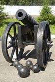 Historical cannon — Stock Photo