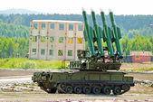 Four rocket launcher — Stock Photo