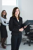 年轻的企业团队 — 图库照片