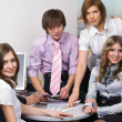 Office team — Stock Photo #4129452